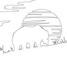 Dibujo para pintar OSO - Dibujos para Colorear y Pintar - Dibujos para colorear ANIMALES - Dibujos ANIMALES SALVAJES para colorear - Dibujos ANIMALES DE LA SELVA para colorear - Colorear OSO