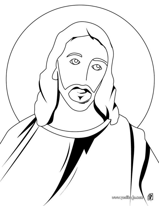 Dibujos para colorear cristo - es.hellokids.com