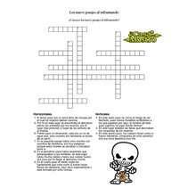 Juego MIC - Juegos divertidos - Juegos para IMPRIMIR - Juegos de CRUCIGRAMAS