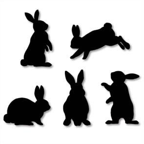 Manualidad infantil : Pegatinas caseras de Pascua