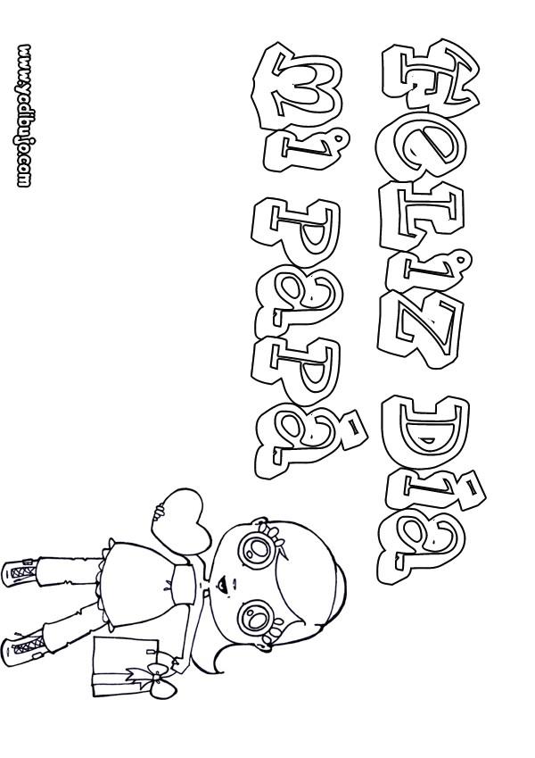 Dibujos para colorear dia del padre niÑa mensaje - es.hellokids.com