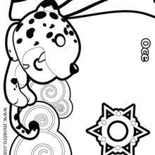 Dibujo para colorear OCE - Dibujos para Colorear y Pintar - Dibujos para colorear PERSONAJES - Dibujos para colorear y pintar PERSONAJES - Dibujos para colorear  - La Casa Del Mostro