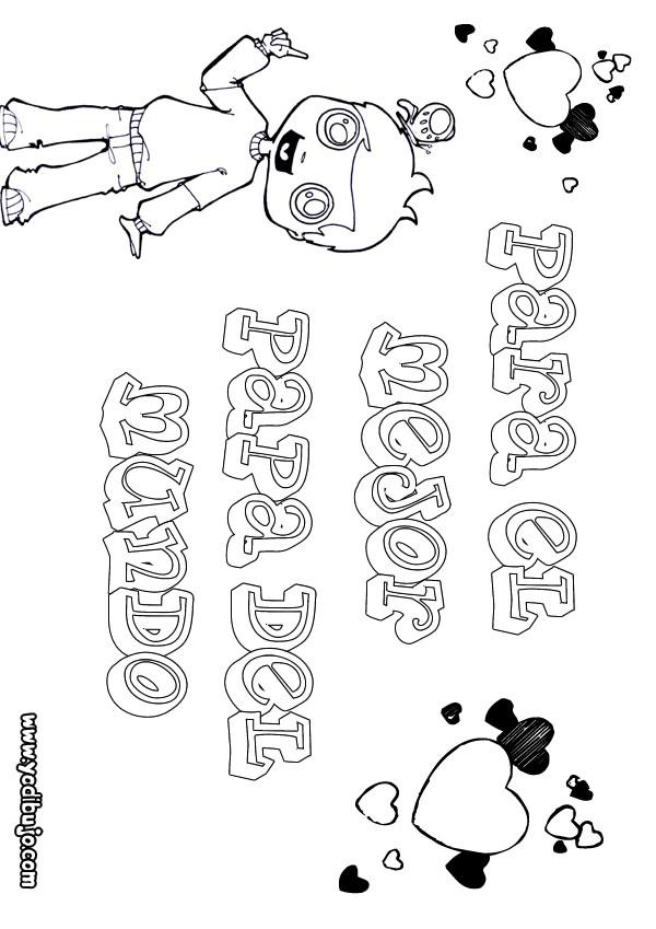Dibujos para colorear padre con su hijos - es.hellokids.com