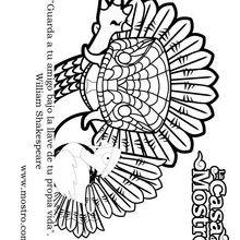 Dibujo para colorear : Quetz y Guajardo