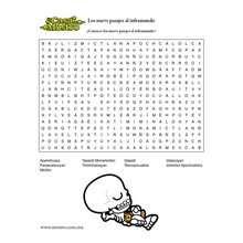 Juego de crucigramas MIC - Juegos divertidos - Juegos para IMPRIMIR - Juegos de CRUCIGRAMAS