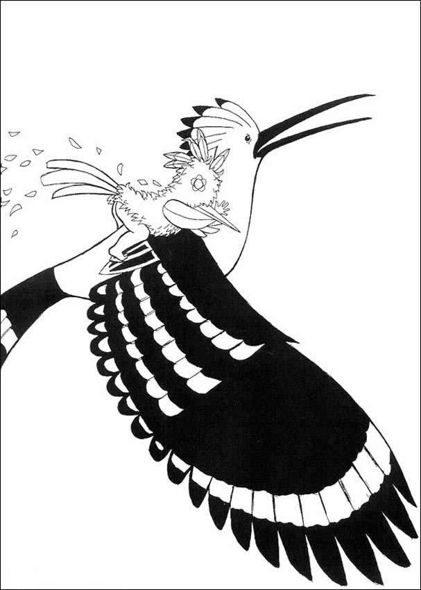 Dibujos para colorear kiriku con el gran sabio - es.hellokids.com