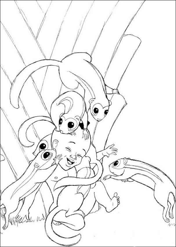 Ardilla : Dibujos para Colorear, Videos y Tutoriales, Juegos ...