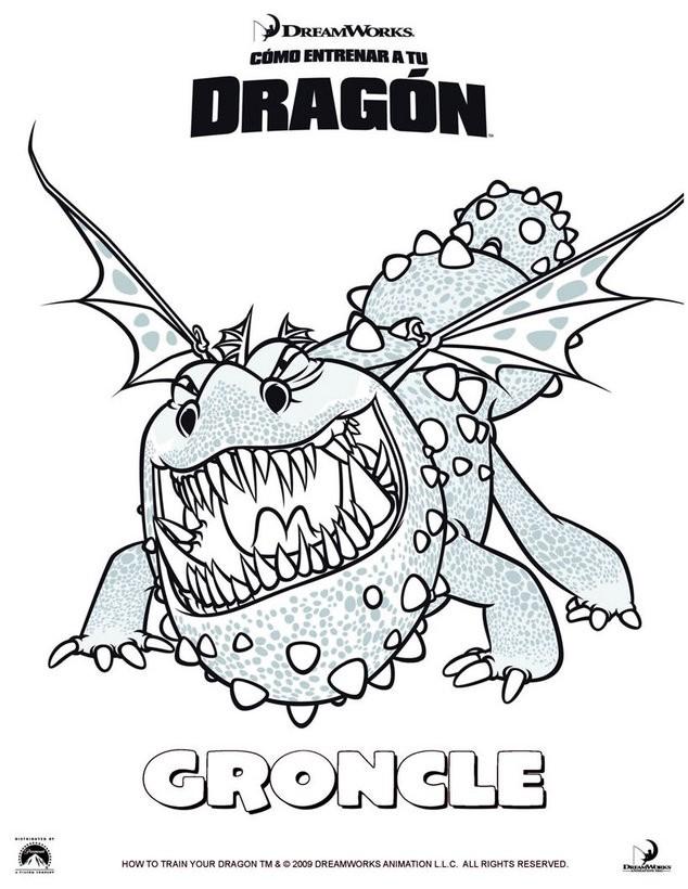 Dibujos para colorear groncle - es.hellokids.com