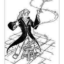 Dibujo de Hermione para pintar - Dibujos para Colorear y Pintar - Dibujos de PELICULAS colorear - Dibujos para colorear HARRY POTTER - Dibujos para colorear HERMIONE GRANGER