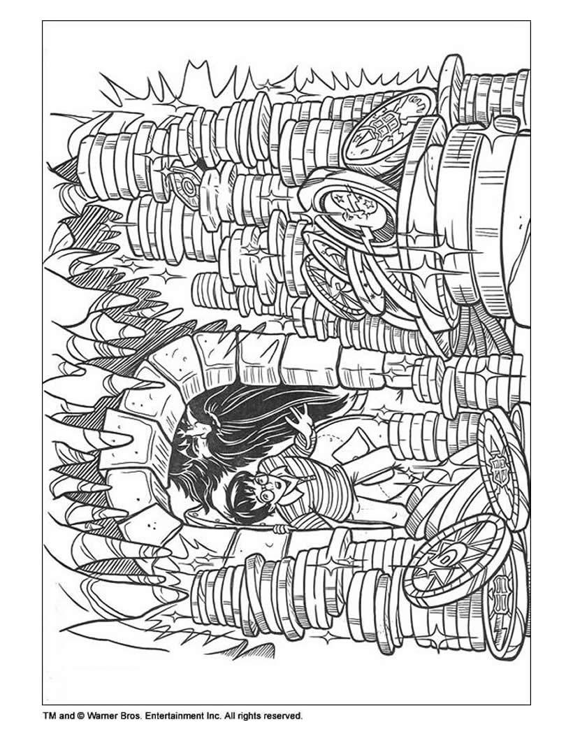 Dibujos para colorear los buhos de los brujos - es.hellokids.com