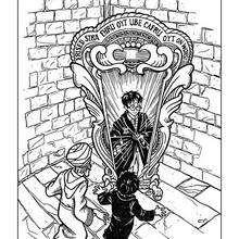 Dibujo de Harry Potter y Voldemort para colorear - Dibujos para Colorear y Pintar - Dibujos de PELICULAS colorear - Dibujos para colorear HARRY POTTER - Dibujos para colorear e imprimir HARRY POTTER