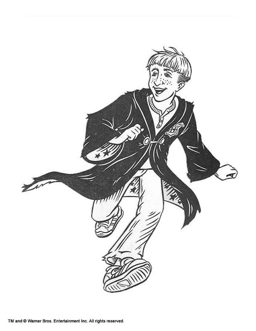 Dibujos para colorear hermione y sus amigos - es.hellokids.com