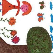 Ilustración : Dibujo del dia de la madre de Doriana (España)