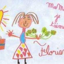 Ilustración : Dibujo del dia de la madre de Florian (Francia)