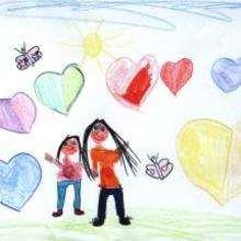 Dibujo del dia de la madre de Lauryn - Dibujar Dibujos - Dibujos infantiles para IMPRIMIR - Dibujos DIA DE LA MADRE para imprimir - Dibujos de niños de 4 a 6 años DIA DE LA MADRE