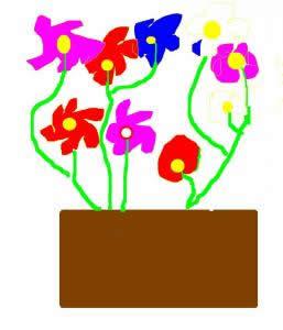 Dibujo del dia de la madre de Leyre Cazorla