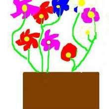 Dibujo del dia de la madre de Leyre Cazorla - Dibujar Dibujos - Dibujos infantiles para IMPRIMIR - Dibujos DIA DE LA MADRE para imprimir - Dibujos de niños de 4 a 6 años DIA DE LA MADRE