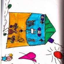 dibujo del dia de la madre de Lucas Schmitt (Andorra) - Dibujar Dibujos - Dibujos infantiles para IMPRIMIR - Dibujos DIA DE LA MADRE para imprimir - Dibujos de niños de 4 a 6 años DIA DE LA MADRE