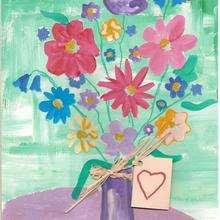 Ilustración : Dibujo del dia de la madre de Melisa (España)