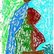 Ilustración : Dibujo del dia de la madre de Salima Soufi (Marruecos)