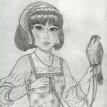 Ilustración : Dibujo del dia de la madre de Tania Castillo (Barcelona)