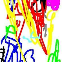 Dibujo dia de la madre Elias Bazan (Mexico) - Dibujar Dibujos - Dibujos infantiles para IMPRIMIR - Dibujos DIA DE LA MADRE para imprimir - Dibujos de niños de 1 a 3 años DIA DE LA MADRE