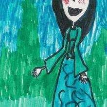 Dibujo de Sara Carvallo - Dibujar Dibujos - Dibujos infantiles para IMPRIMIR - Dibujos DIA DE LA MADRE para imprimir - Dibujos del DIA DE LA MADRE por niños de 7 a 10 años