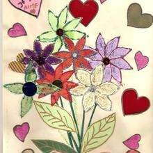 Dibujo de Morgan Keraval de Pont-L'Abbe (France) - Dibujar Dibujos - Dibujos infantiles para IMPRIMIR - Dibujos DIA DE LA MADRE para imprimir - Dibujos del DIA DE LA MADRE por niños de 7 a 10 años