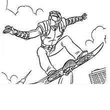 Dibujo para pintar El Duende Verde - Dibujos para Colorear y Pintar - Dibujos para colorear SUPERHEROES - Dibujos para colorear SPIDERMAN - Dibujos para colorear DUENDE VERDE