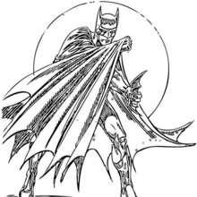 El Hombre murciélago - Dibujos para Colorear y Pintar - Dibujos para colorear SUPERHEROES - Dibujos para colorear BATMAN - Dibujos para colorear HOMBRE MURCIELAGO