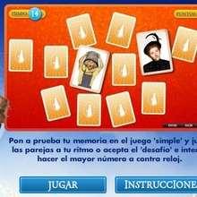 Juego online JUNTA LAS PAREJAS - Juegos divertidos - Juegos de PELICULAS - Juegos online LA NIÑERA MAGICA Y EL BIG BANG