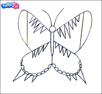 papilio-dibujo-mariposa