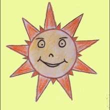 Aprender a dibujar : Dibujar Señor SOL