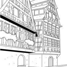 Dibujo para colorear : STRASBURGO