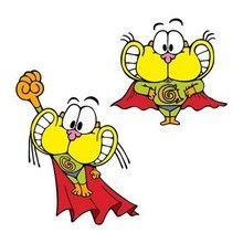 Imagen : Dibujo Gaturro Superheroe