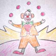 Dibujar personajes del circo - Aprender cómo dibujar paso a paso - Dibujar Dibujos