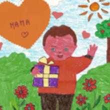 Dibujos del DIA DE LA MADRE por niños de 7 a 10 años - Dibujos infantiles para IMPRIMIR - Dibujar Dibujos
