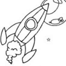 Dibujos ESPACIO y EXTRATERRESTRES para colorear