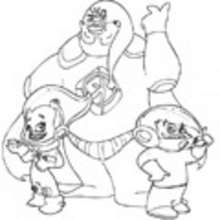 Más de 10 años, Dibujos para colorear Klopobek