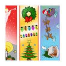 Marcapaginas de Navidad