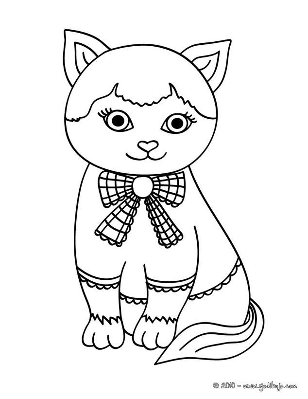 Dibujos Para Colorear Cachorro Gato Cartujo Eshellokidscom