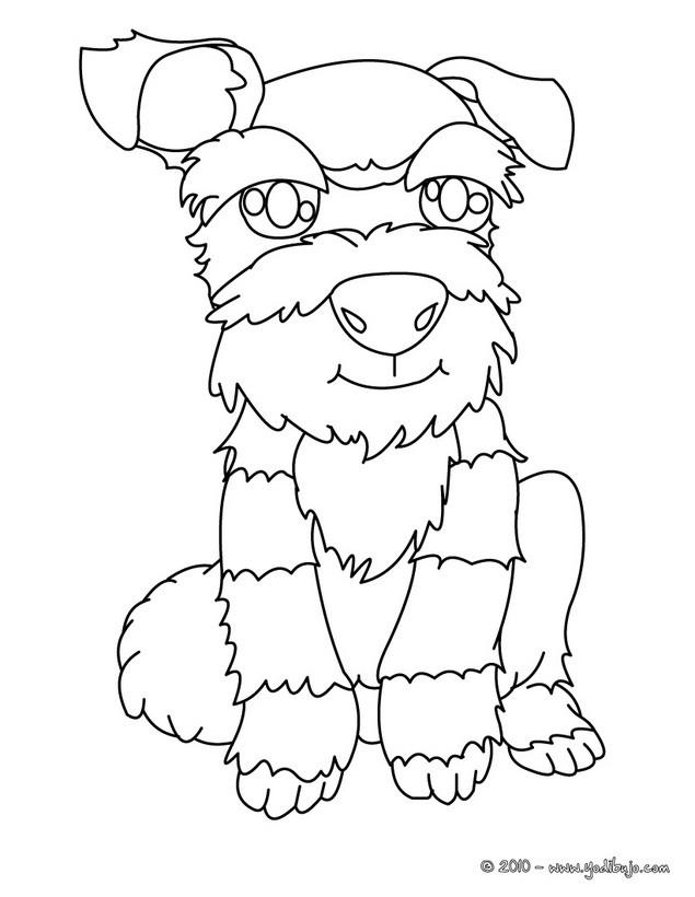 Dibujos para colorear cachorro foxterrier con pelo duro - es ...
