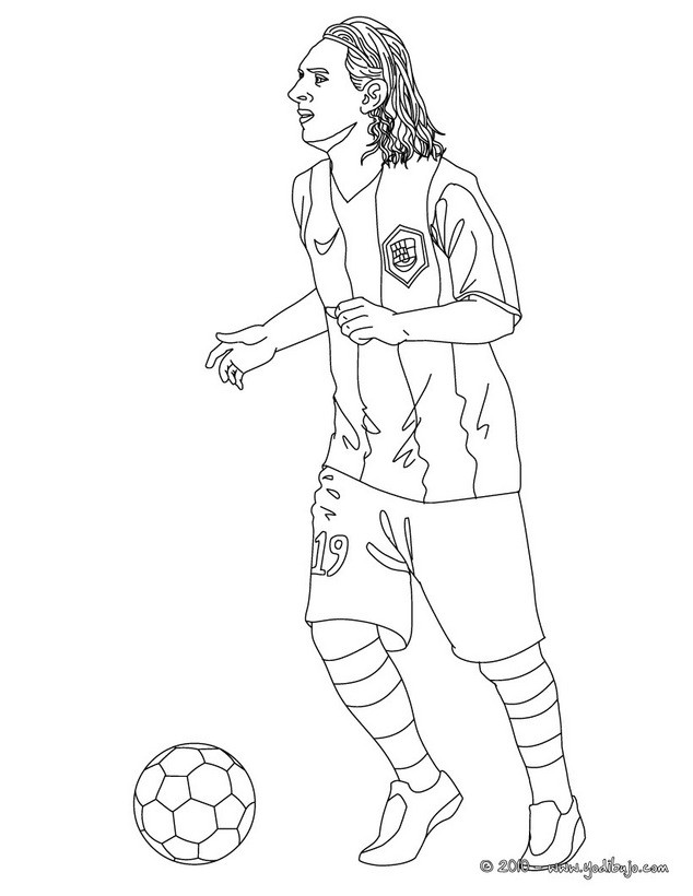 coloring pages sports messi jersey - photo#3