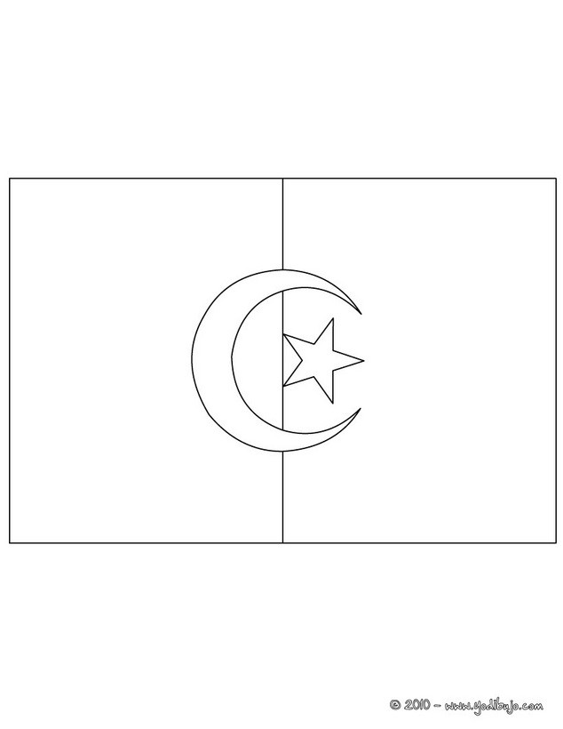 Bandera de Costa de Marfil Para Colorear Dibujo Para Colorear Bandera