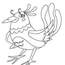 Dibujo de PAJARITA - Dibujos para Colorear y Pintar - Dibujos para colorear ANIMALES - Dibujos PAJAROS para colorear - Dibujos para colorear e imprimir PAJAROS