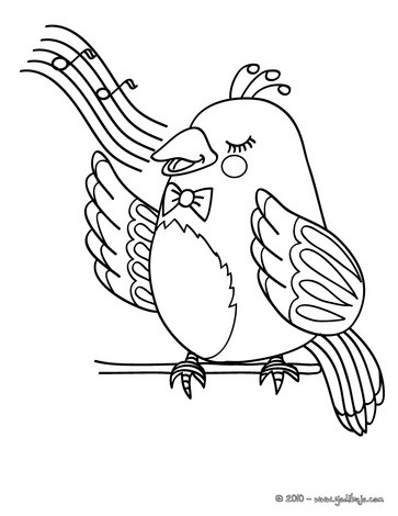 Dibujos para colorear codorniz - es.hellokids.com