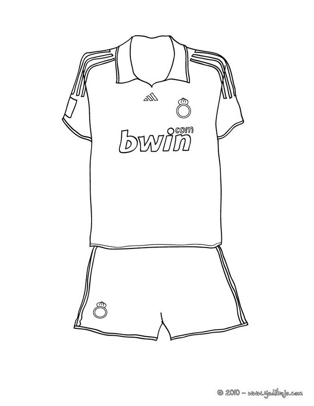 coloring pages sports messi jersey - photo#36