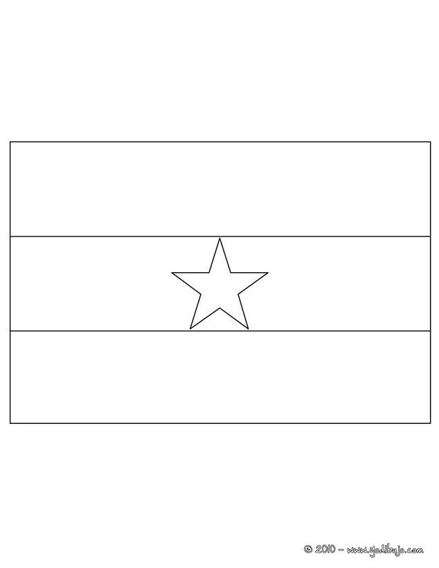 Dibujos para colorear bandera estados unidos - es.hellokids.com