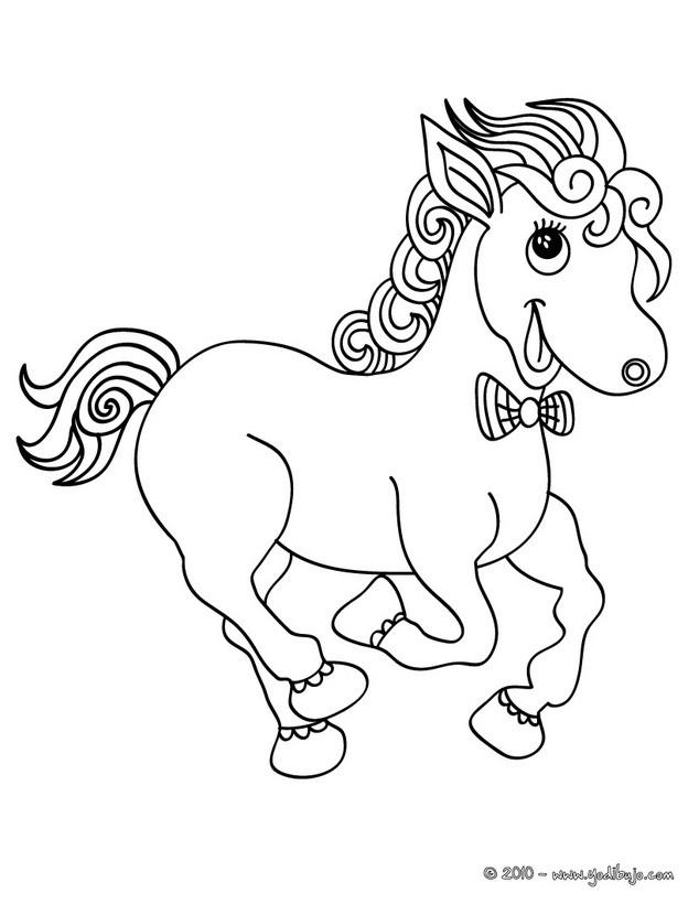 Dibujos de PONIS para colorear - 17 dibujos de animales para ...