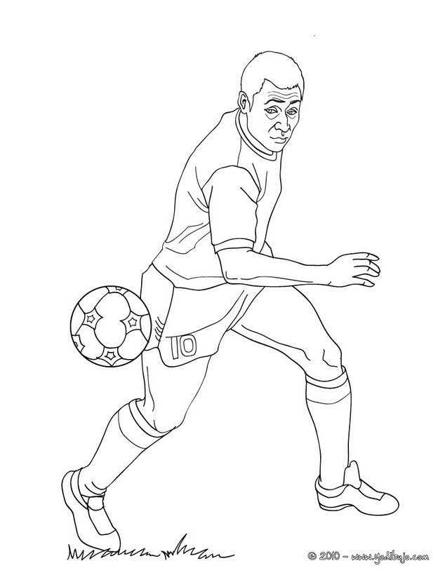 coloring pages sports messi jersey - photo#13